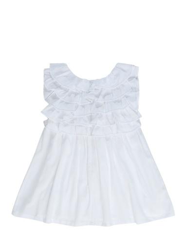 Billieblush Elbise Beyaz